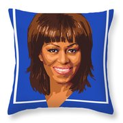 Michelle Throw Pillow