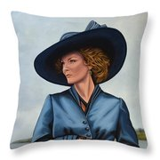 Michelle Pfeiffer Throw Pillow