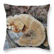 Michigan Fungus 2 Throw Pillow