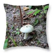Michigan Fungus 3 Throw Pillow