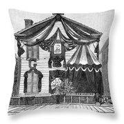 Michigan Grant House Throw Pillow