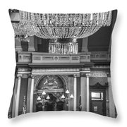 Michigan State Capital Chandler  Throw Pillow
