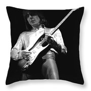 Mick Of Mott The Hoople And Bad Company Throw Pillow