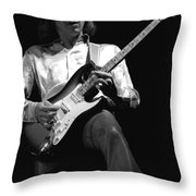 Mick Rocks 1977 Throw Pillow