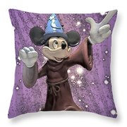 Mickey And The Stars Throw Pillow
