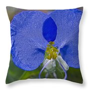 Mickey Mouse Flower Throw Pillow