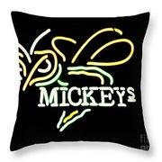 Mickeys Throw Pillow