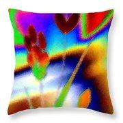Micro Linear 37 Throw Pillow