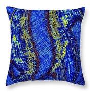 Micro Linear 41 Throw Pillow
