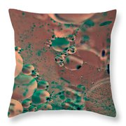 Microorganisms Throw Pillow
