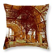Mid-summer Harvest Throw Pillow