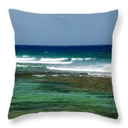 Midday Breakers Throw Pillow