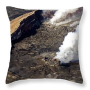Middle East Rift Vent Throw Pillow