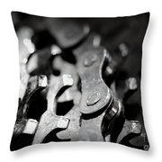 Middle Gear Throw Pillow