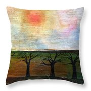 Middle Of Day  Throw Pillow