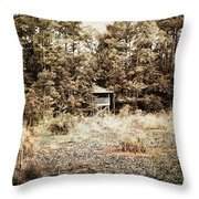 Middle Of Nowhere Throw Pillow