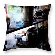 Middlebrook General Store Window Throw Pillow