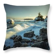 Middlebrun Bay Sunset II Throw Pillow