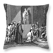 Middlesex Petition, 1769 Throw Pillow