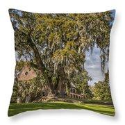 Historic Middleton Place  Throw Pillow