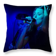 Midgar Throw Pillow