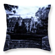 Midnight At The Prison Throw Pillow