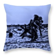 Midnight Battle Stay Close Throw Pillow