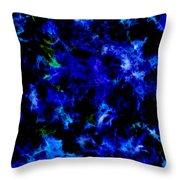 Midnight Blue Throw Pillow