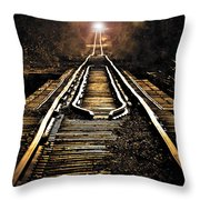 Midnight Crossing Throw Pillow