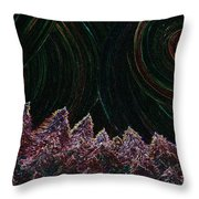 Midnight Forest By Jrr Throw Pillow