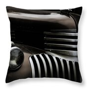 Midnight Grille Throw Pillow