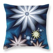 Midnight In Spring Throw Pillow