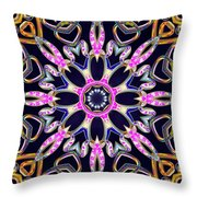 Midnight Magnetism Throw Pillow