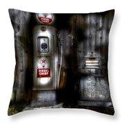 Midnight Oil Throw Pillow