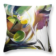 Midnight On The Bayou Throw Pillow