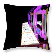 Midnight Perspective Throw Pillow