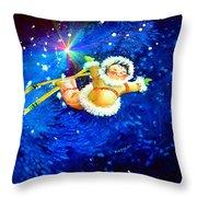 Midnight Sun Flyer Throw Pillow