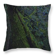 Midnight Tree By Jrr Throw Pillow