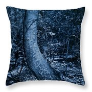 Midnight Woods Throw Pillow