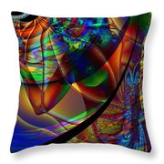Midsummer Daydream Throw Pillow