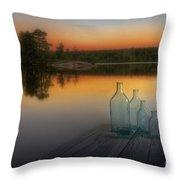 Midsummer Magic Throw Pillow