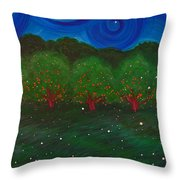 Midsummer Night By Jrr Throw Pillow