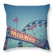 Midway Throw Pillow