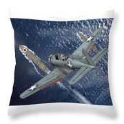 Midway Moment Throw Pillow