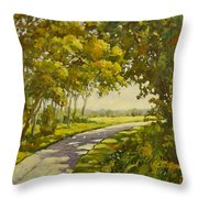 Midway Village Rockford Illinois Throw Pillow