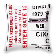 Midwest Rivals Throw Pillow