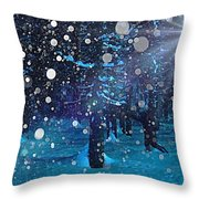 Midwinter Throw Pillow