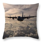 Mighty Hercules Throw Pillow