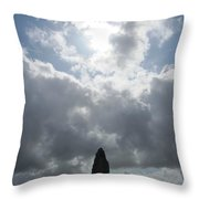 Mighty Megalith At Callanish II Throw Pillow