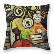Migraine Throw Pillow